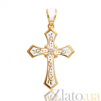 Эксклюзивный женский крестик Рожденные для счастья PRT--KC014