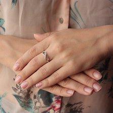 Серебряное кольцо Знак бесконечности
