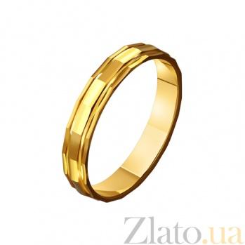 Золотое обручальное кольцо Старинная сказка TRF--4111583