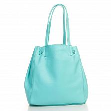Сумка На Каждый День Italian Bags 8956_tiffany Кожаная Зеленый