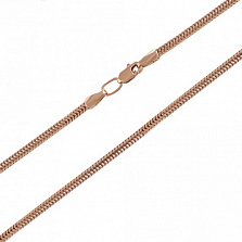 Золотая цепочка Снейк 1.7 мм