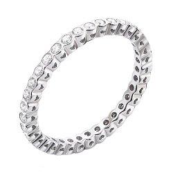 Кольцо из белого золота с бриллиантами 000137795