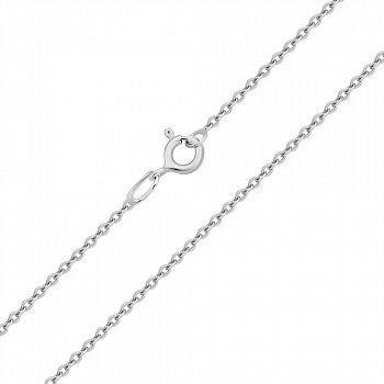 Золотая цепочка в белом цвете якорного плетения 000101587