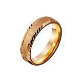 Золотое обручальное кольцо Песня любви