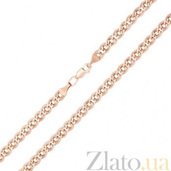 Золотая цепочка Наварра в красном цвете 000023569