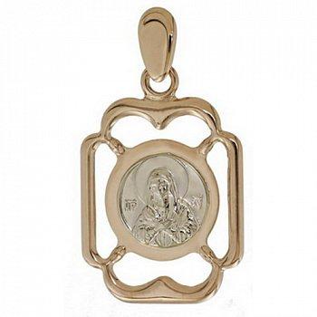 Золотая ладанка Пресвятая Мария 000046186