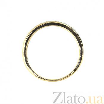 Золотое кольцо в красном цвете с бриллиантами Одри 000021478