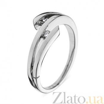 Золотое кольцо с бриллиантами Лорелей R0392