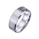 Золотое обручальное кольцо Эллада