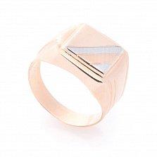 Золотой перстень-печатка Конрад