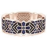 Мужское обручальное кольцо из розового золота Калейдоскоп Любви: Увертюра к счастью