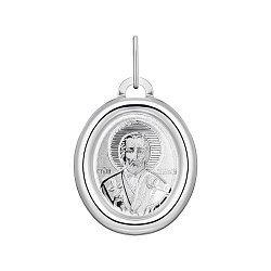 Серебряная ладанка Святой Николай 000148430