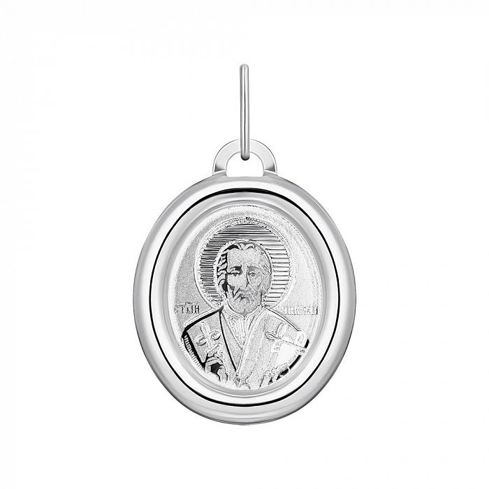 Серебряная ладанка Святой Николай 000148430 000148430