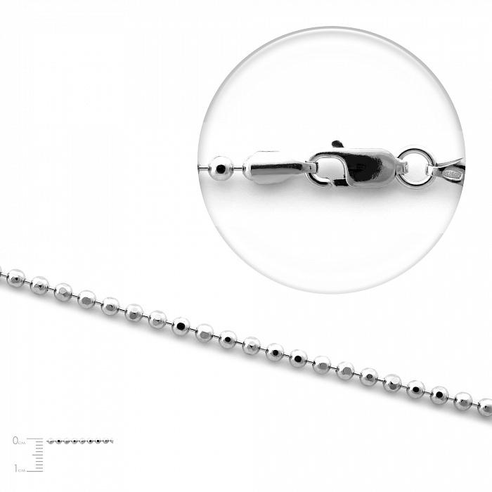Серебряная цепь Бабетта, 2 мм 000067416