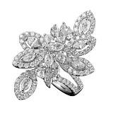 Золотое кольцо с бриллиантами Вирджиния