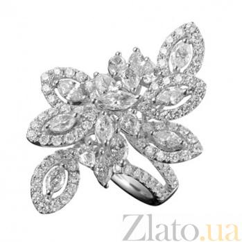 Золотое кольцо с бриллиантами Вирджиния KBL--К5010/бел/брил