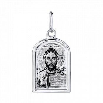 Серебряная ладанка Иисус Христос 000140411
