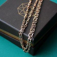 Золотая цепь Миорнис якорного плетения