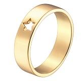 Кольцо в желтом золоте Звездочка