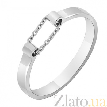 Золотое кольцо Ускорение в белом цвете 000032647