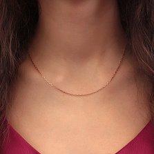 Серебряная цепочка Имидж с позолотой, 1,5мм