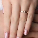 Золотое кольцо Зита с бриллиантами