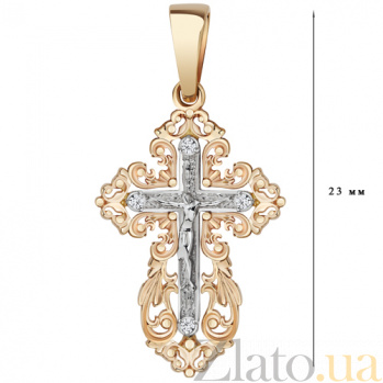 Золотой крестик Тайна исповеди AUR--34006