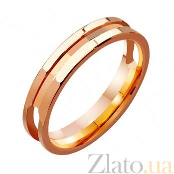 Золотое обручальное кольцо Узы TRF--411377