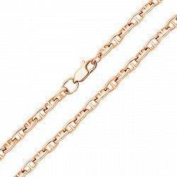 Цепь из красного золота в плетении Валентино 000132942