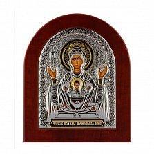 Икона Неупиваемая Чаша на деревянной основе, 15,5х19см