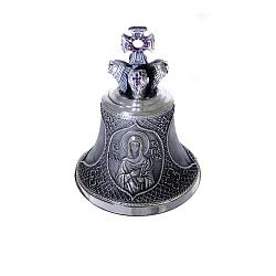 Бронзовый колокольчик с цирконием Св.Татьяна