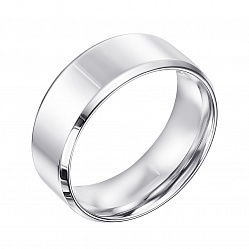 Обручальное кольцо из белого золота 000135961