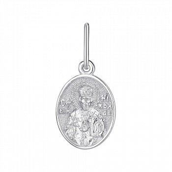 Серебряная ладанка Святой Николай Чудотворец 000145995