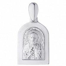 Серебряная ладанка Святитель Николай