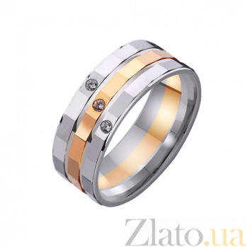 Золотое обручальное кольцо Шерил TRF--421998
