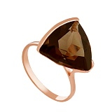 Золотое кольцо Токио с гидротермальным раухтопазом