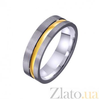 Золотое обручальное кольцо Эффектный стиль TRF--4411370