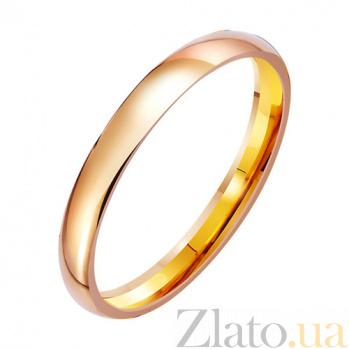 Золотое обручальное кольцо Любовная лирика TRF--411756
