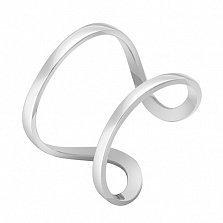 Кольцо Стиль в белом золоте