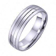Золотое обручальное кольцо Счастье на двоих