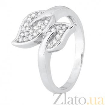 Серебряное кольцо с цирконием Осень 000028279
