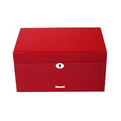 Красная шкатулка для украшений High Gloss из лакированного дерева 000014993