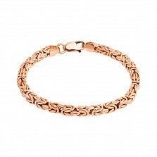 Золотой браслет Византия, 4,5мм