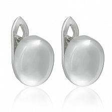 Серебряные серьги Аттика