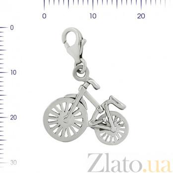 Серебряный подвес Велосипед 3П203-0013