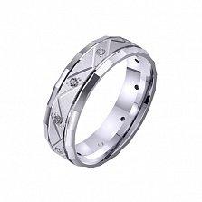 Золотое обручальное кольцо Empyrean love с фианитами
