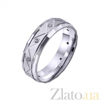 Золотое обручальное кольцо Empyrean love с фианитами TRF--4221085