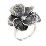 Серебряное кольцо Шафран