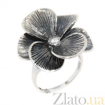 Серебряное кольцо Шафран 100624
