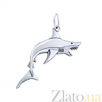 Серебряная подвеска Морской хищник AUR--74601*
